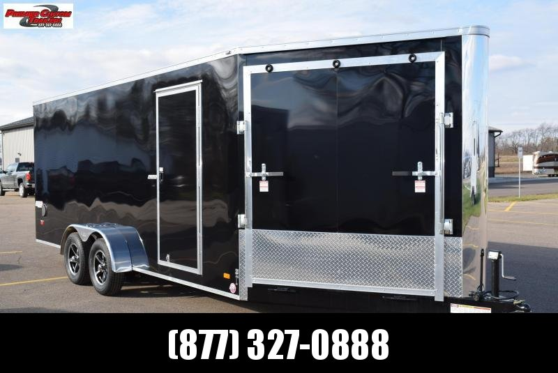 BRAVO SCOUT 23' ENCLOSED SNOWMOBILE/UTV TRAILER
