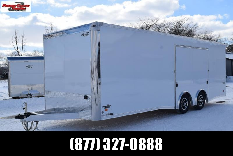 BRAVO SILVER STAR 24' ALUMINUM ENCLOSED RACE HAULER