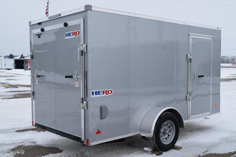 BRAVO HERO 6x12 ENCLOSED CARGO TRAILER