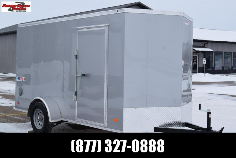 BRAVO HERO 6x12 ENCLOSED CARGO TRAILER