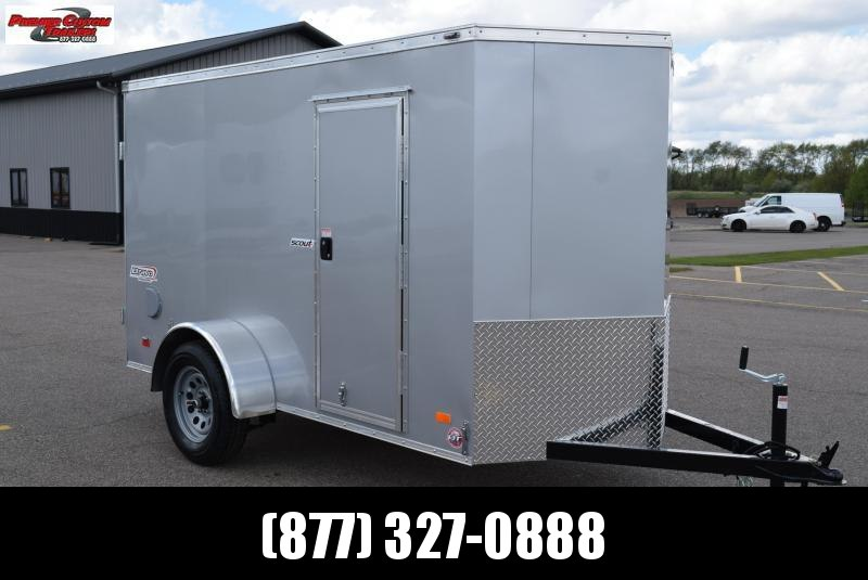 BRAVO 5x10 SCOUT ENCLOSED CARGO TRAILER w/ DOUBLE DOORS