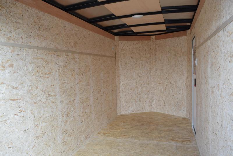 BRAVO 5x10 SCOUT ENCLOSED CARGO TRAILER w/ DOUBLE DOORS