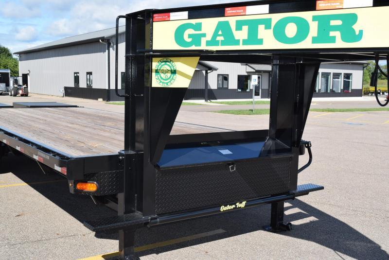 GATORMADE 20'+5' WORKHORSE GOOSENECK HEAVY EQUIPMENT TRAILER
