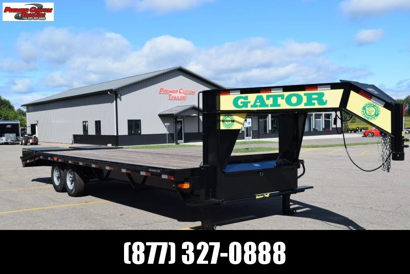 GATORMADE 20'+5' WORKHORSE GOOSENECK HEAVY EQUIPMENT TRAILER