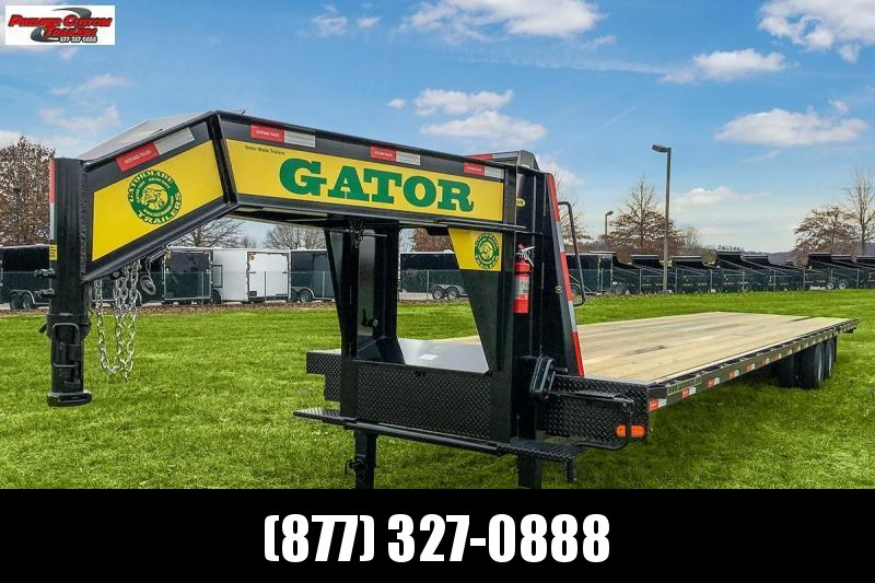 2020 GATORMADE 40FT HOTSHOT 24.9K GOOSENECK EQUIPMENT TRAILER