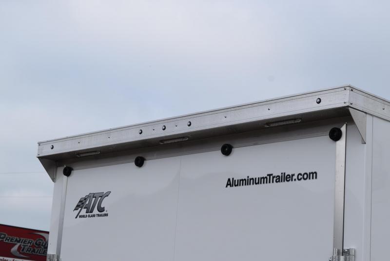 ATC 24' RAVEN LIMITED ALUMINUM CAR HAULER w/ PREMIUM ESCAPE DOOR
