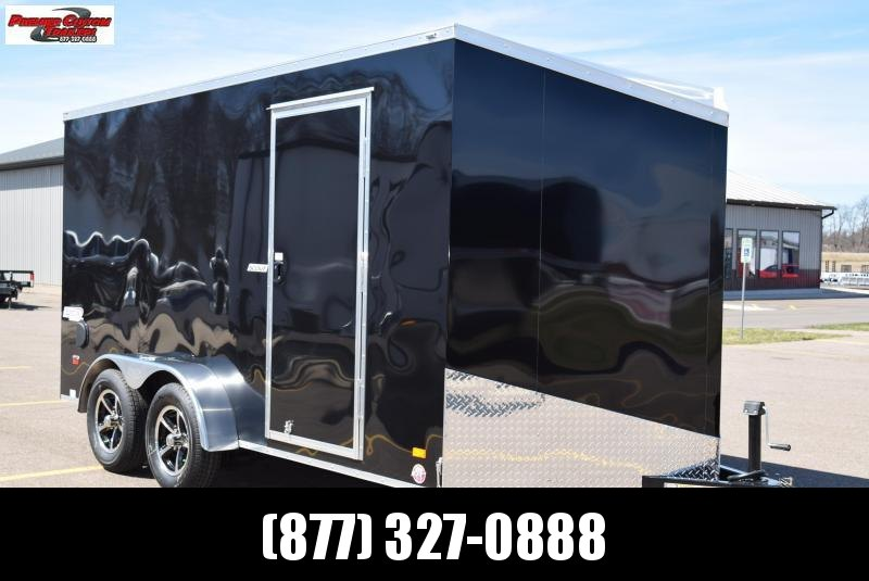 BRAVO SCOUT 7x14 ENCLOSED MOTORCYCLE TRAILER