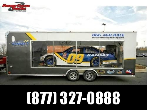 ATC ALL ALUMINUM LEXAN SIDED SHOW TRAILER