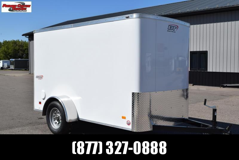 BRAVO 5x10 SCOUT ENCLOSED CARGO TRAILER w/ MOTORCYCLE PACKAGE