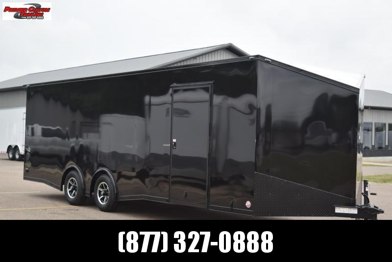 2021 BRAVO 8.5x24 SCOUT *MIDNIGHT EDITION* ENCLOSED CAR HAULER