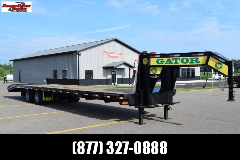 GATORMADE 30+5 TANDEM DUAL ELITE GOOSENECK HEAVY EQUIPMENT TRAILER