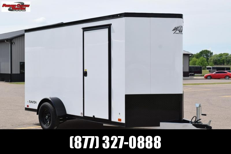 2020 ATC ALL ALUMINUM 6x12 CARGO TRAILER **BLACKOUT PACKAGE**