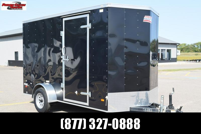 USED 2016 AMERICAN HAULER 6x12 ENCLOSED CARGO TRAILER