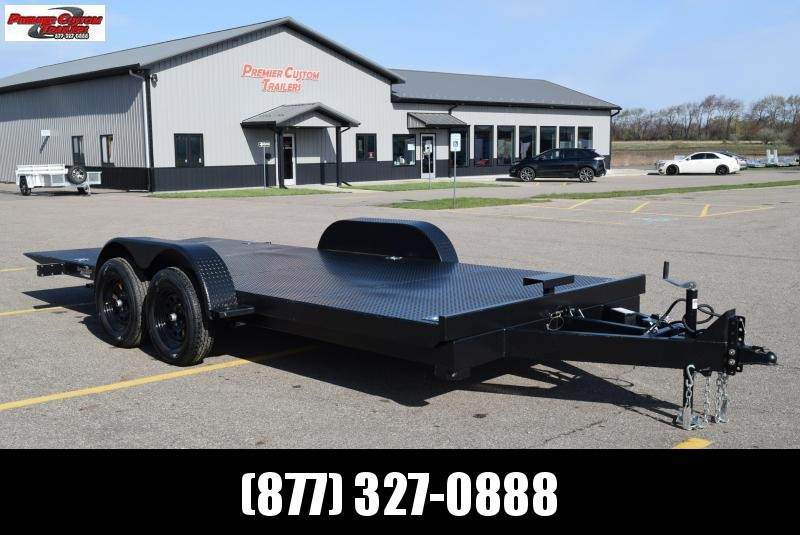 NATION 18' TILT BED OPEN CAR HAULER w/ 3500# AXLES