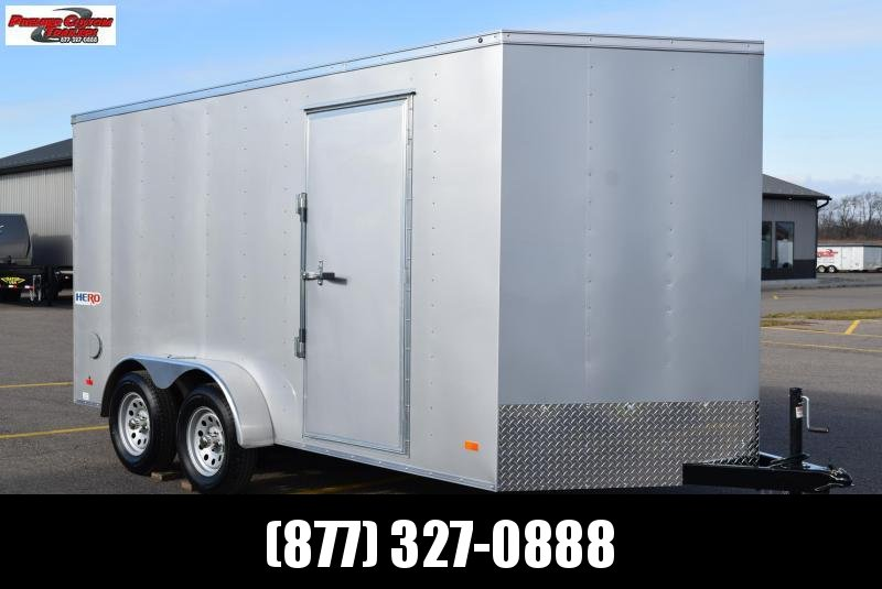 BRAVO HERO 7x14 ENCLOSED CARGO TRAILER