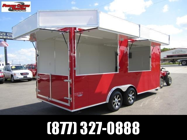 8x18 COMMERCIAL VENDING TRAILER