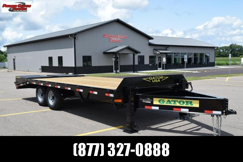 GATORMADE 16'+5' PINTLE 14K EQUIPMENT TRAILER
