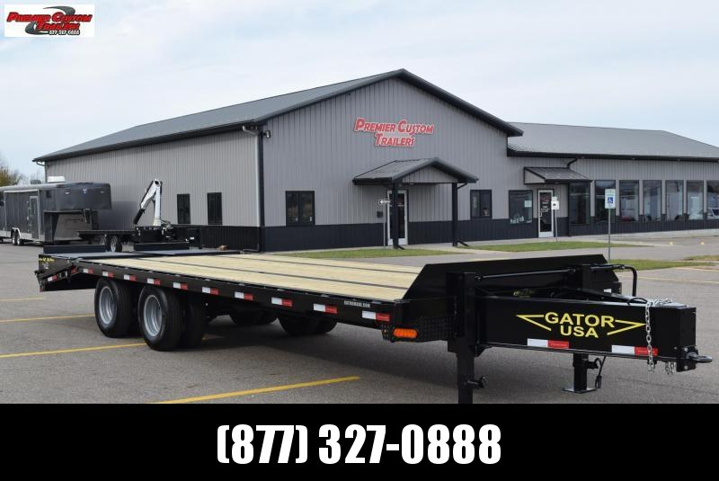 GATORMADE 20'+5' PINTLE 22K EQUIPMENT TRAILER