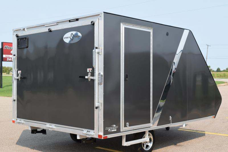 SPORT HAVEN 13' HYBRID DELUXE ENCLOSED SNOWMOBILE TRAILER **UNAVAILABLE FOR 2021 SEASON**