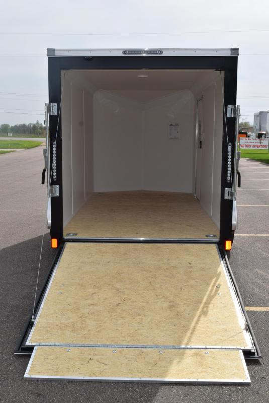 BRAVO 6x12 SCOUT ENCLOSED MOTORCYCLE TRAILER