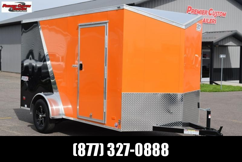 2021 BRAVO 6x12 SCOUT ENCLOSED MOTORCYCLE TRAILER