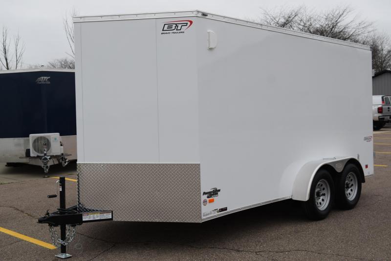 BRAVO 7x14 SCOUT ENCLOSED CARGO TRAILER W/ REAR DOUBLE DOORS