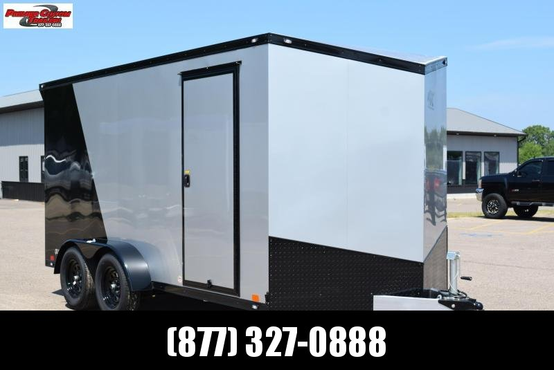 2021 ATC 7x14 QUEST ENCLOSED CARGO TRAILER **BLACKOUT EDITION**