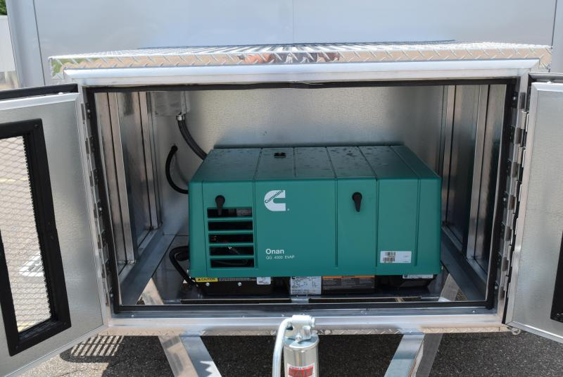 2021 7x12 ATC FIBER OPTIC SPLICING TRAILER w/4.0k GENERATOR