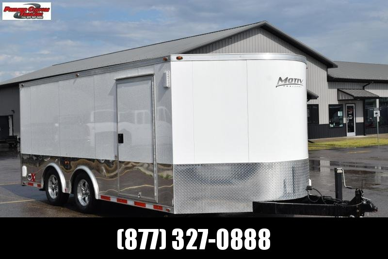 USED 2012 MOTIV 8.5x16+2 RSX ENCLOSED CAR HAULER