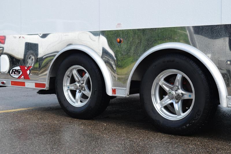 USED 2012 MOTIV 8.5x16+2 RSX ENCLOSED CAR HAULER