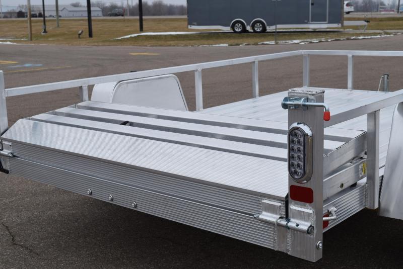 SPORT HAVEN 6x10 DELUXE SERIES UTILITY TRAILER W/ BI-FOLD RAMP GATE