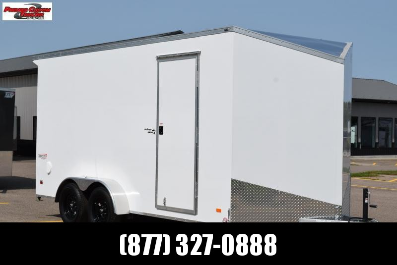 2021 BRAVO 7x16 SILVER STAR ENCLOSED CARGO TRAILER
