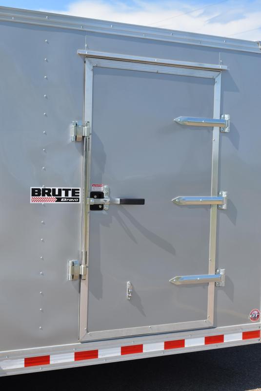 BRAVO 7x16 BRUTE HEAVY DUTY CARGO TRAILER W/ SCISSOR LIFT PACKAGE
