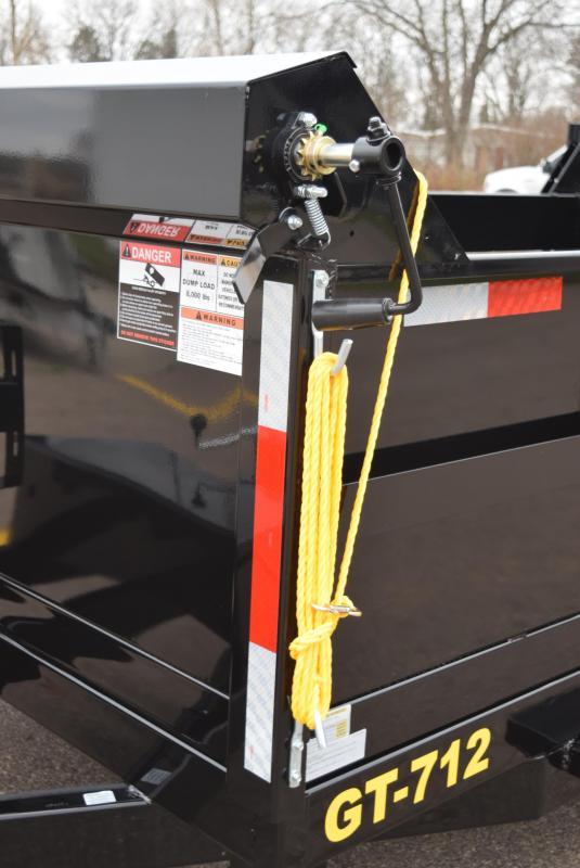GRIFFIN 83x12' DUMP TRAILER W/ 12K GVW