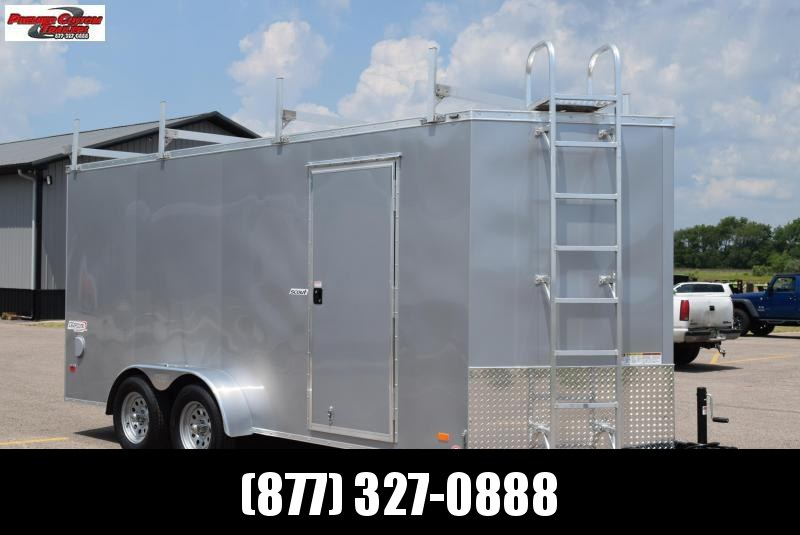 2021 BRAVO 7x16 SCOUT ENCLOSED CONTRACTOR TRAILER