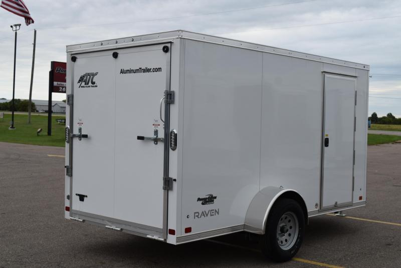 2019 ATC ALL ALUMINUM 6x12 CARGO TRAILER