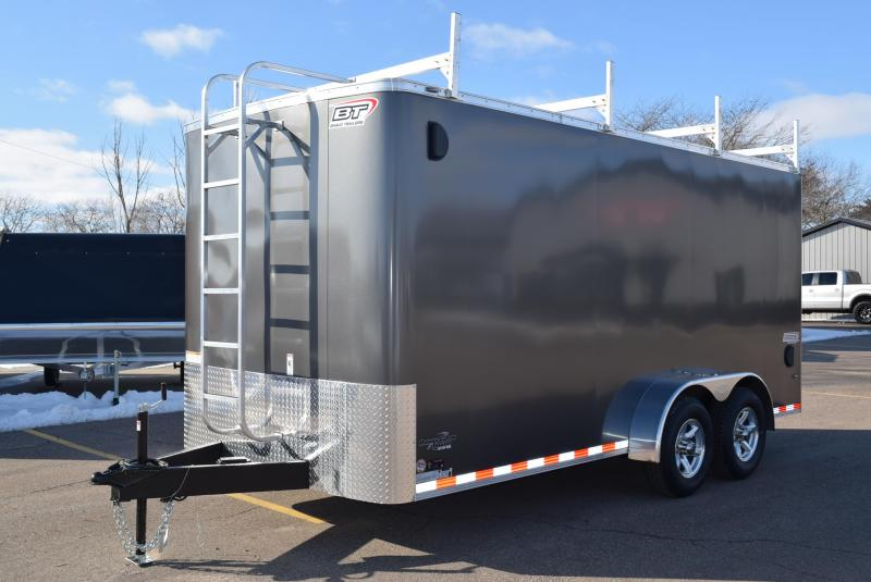 2020 BRAVO SCOUT 7x16 CONTRACTOR TRAILER w/ 5200LB AXLES