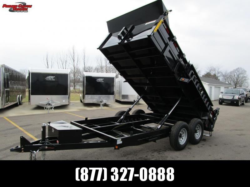 GRIFFIN 83 X 14 14K Low Pro Dump Trailer