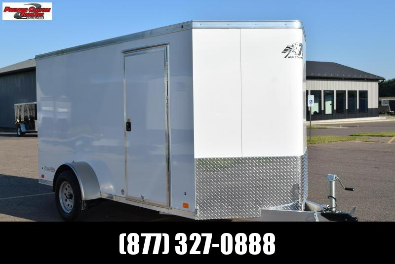 2020 ATC ALL ALUMINUM 6x12 RAVEN CARGO TRAILER