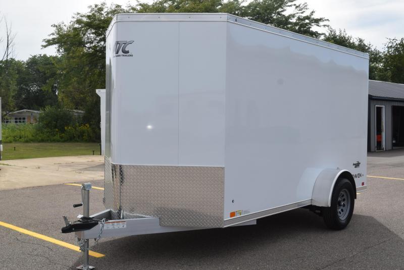2021 ATC ALL ALUMINUM 6x12 RAVEN CARGO TRAILER