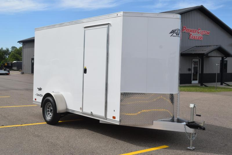 2021 ATC ALL ALUMINUM 6x12 RAVEN CARGO TRAILER