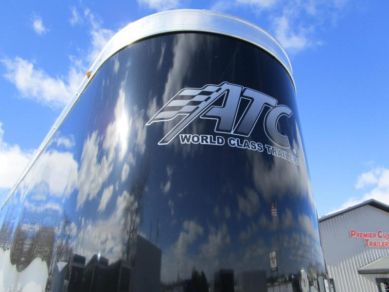 2020 ATC 28' ALLSPORT ALL ALUMINUM CAR/SNOWMOBILE HAULER