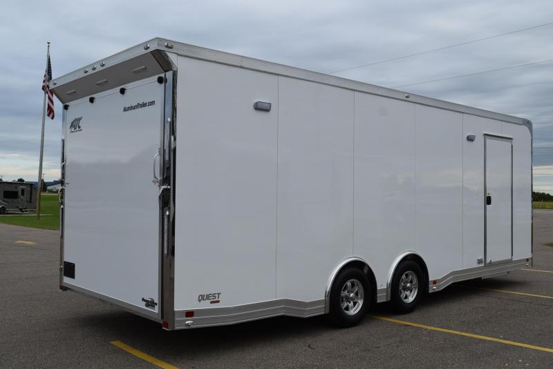 ATC 24' QUEST ALL ALUMINUM RACE HAULER w/ CH405