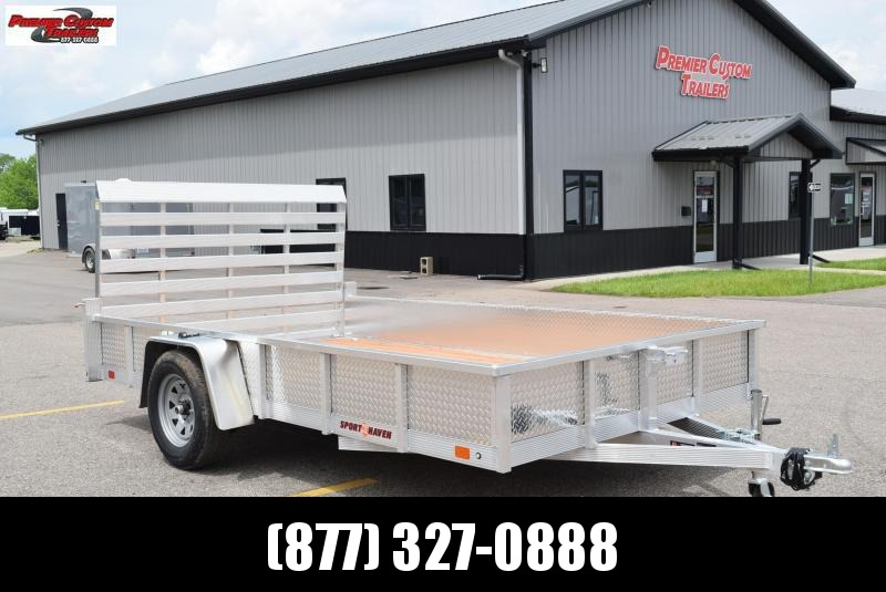 2020 SPORT HAVEN 7x12 OPEN UTILITY TRAILER W/ SIDES