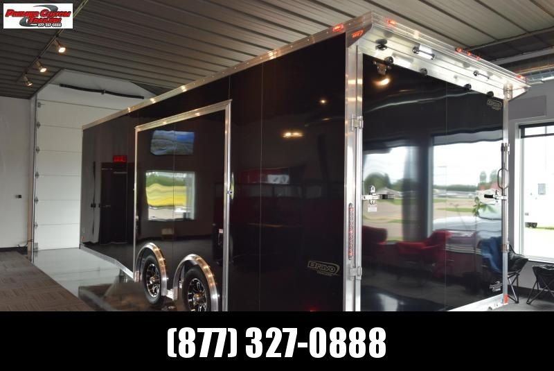 BRAVO SILVER STAR 22' ALUMINUM ENCLOSED CAR HAULER