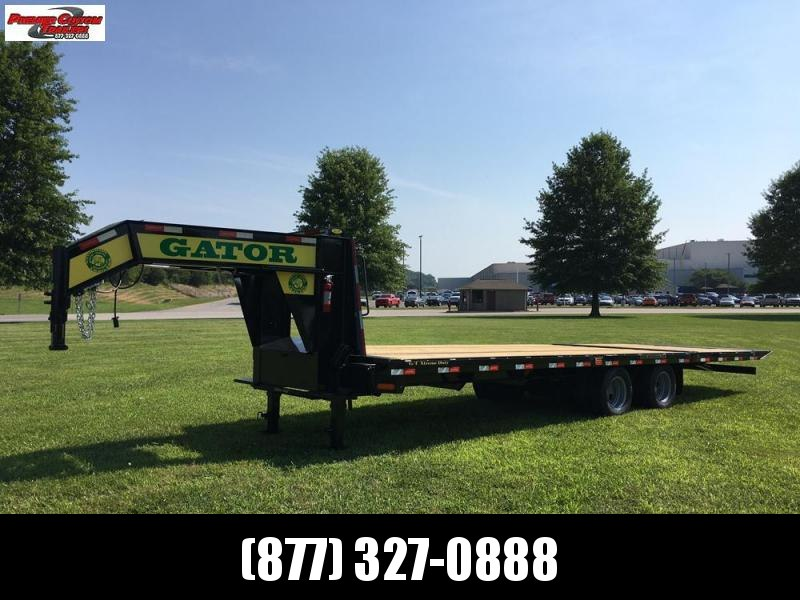GATORMADE 20'+10' HYDRA-TAIL ELITE GOOSENECK HEAVY EQUIPMENT TRAILER