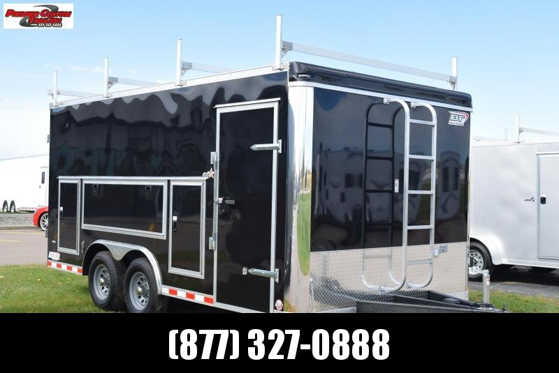 BRAVO STAR 8.5x16 PRO SERIES CONTRACTOR TRAILER