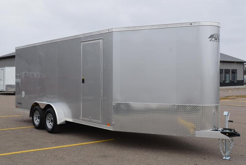 RAVEN 18'+6' ENCLOSED SNOWMOBILE/UTV TRAILER