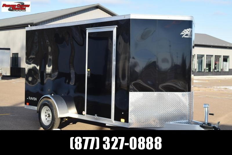 ATC 6x12 ALUMINUM ENCLOSED CARGO TRAILER