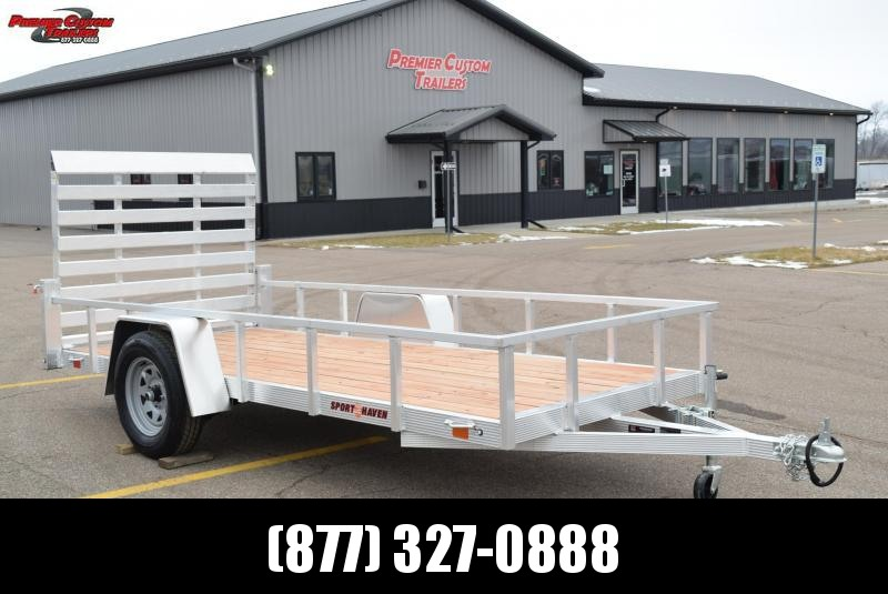 SPORT HAVEN 5x12 OPEN UTILITY TRAILER